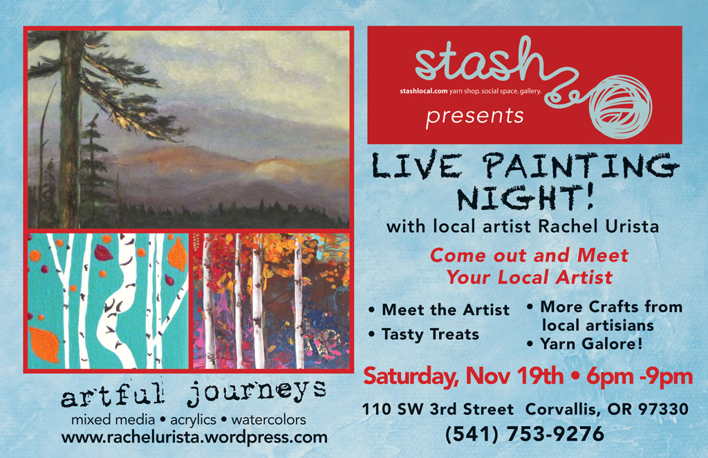 STASH – ART SHOW and LIVE PAINTING