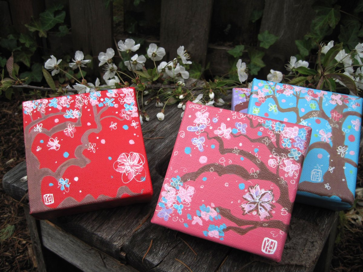 Spring Canvases