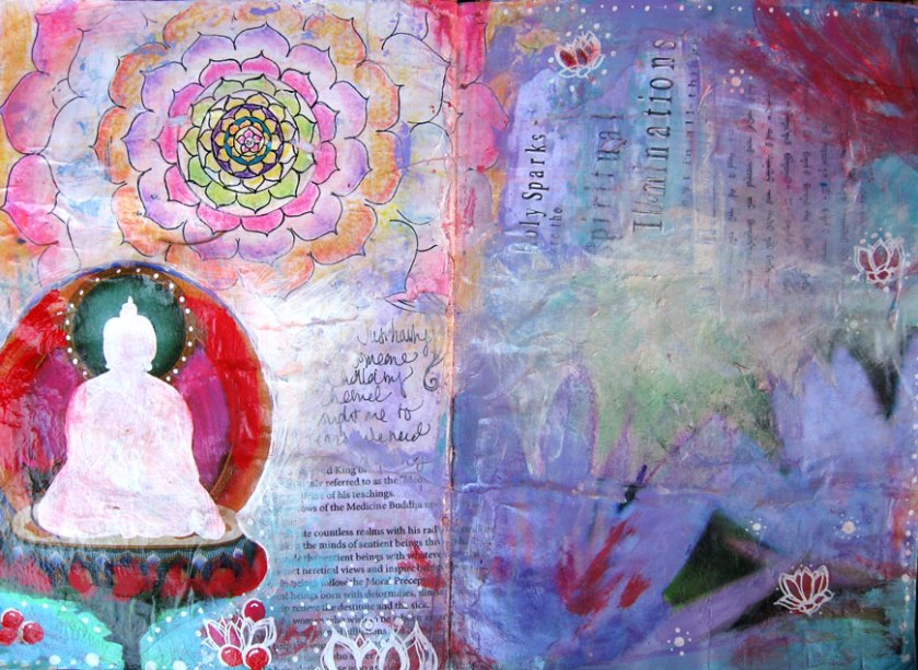 Journal Page, Mixed Media © 2013 Rachel Urista