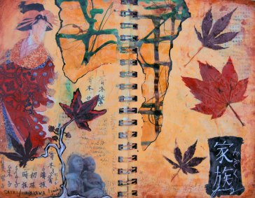 Journal Page, Mixed Media  © 2013 Rachel Urista