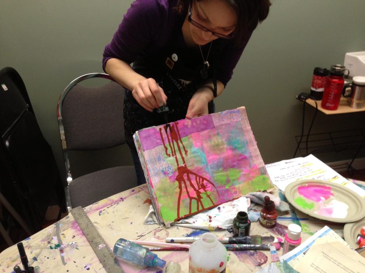 2014 Art Journal Workshops …Comingsoon!