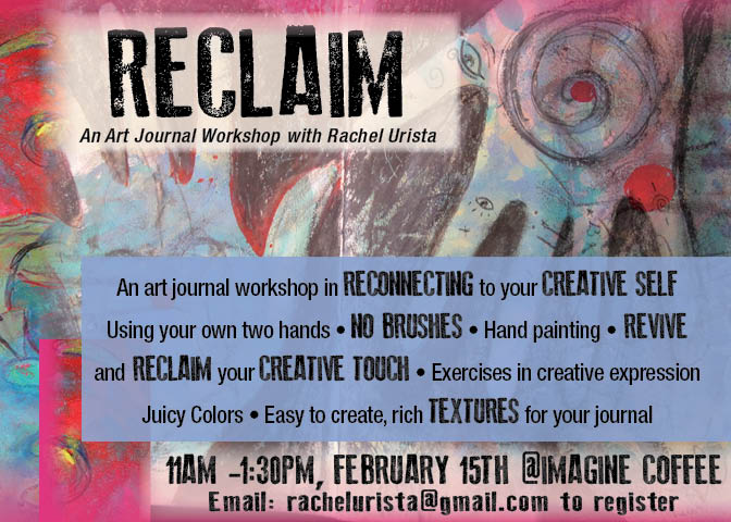 Art Journal Workshop: This Saturday!