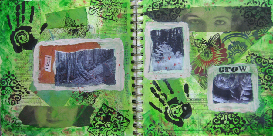 Art Journal Workshop • A Journey back to Creativity