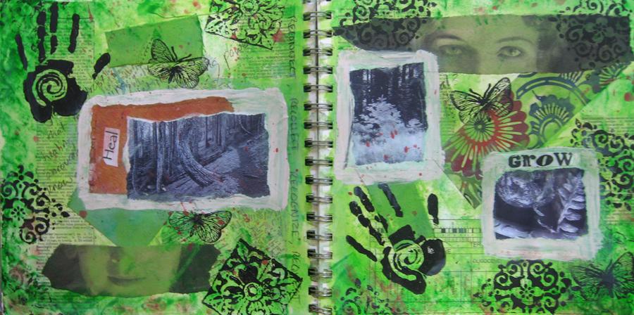 Art Journal Workshop • A Journey back toCreativity
