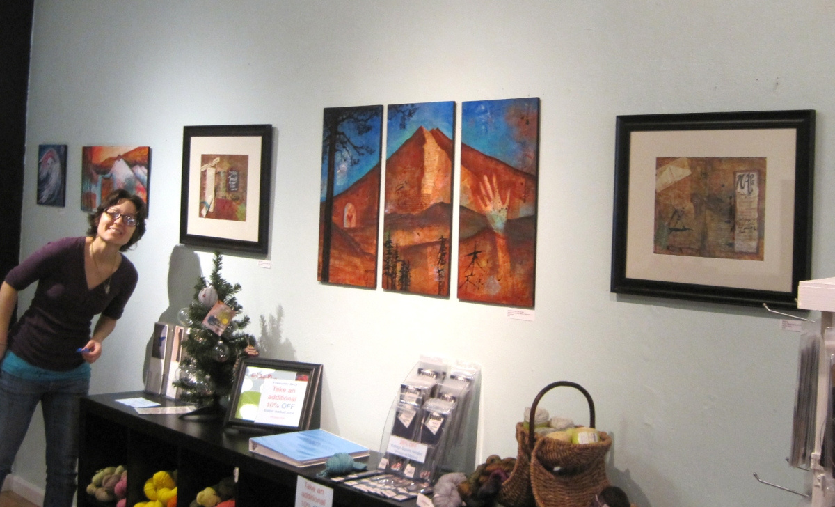Journeys • Mixed Media Paintings At Stash