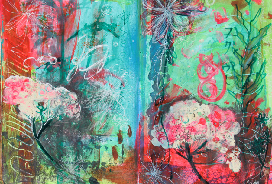 Joyful • Art Journal Pages