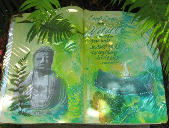 Daibutsu_Art Journal_ Rachel Urista