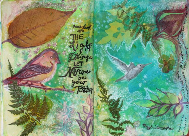 NatureTeacher_Art Journal Rachel Urista