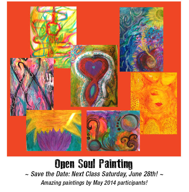 Opening Up • Open Soul Painting Session