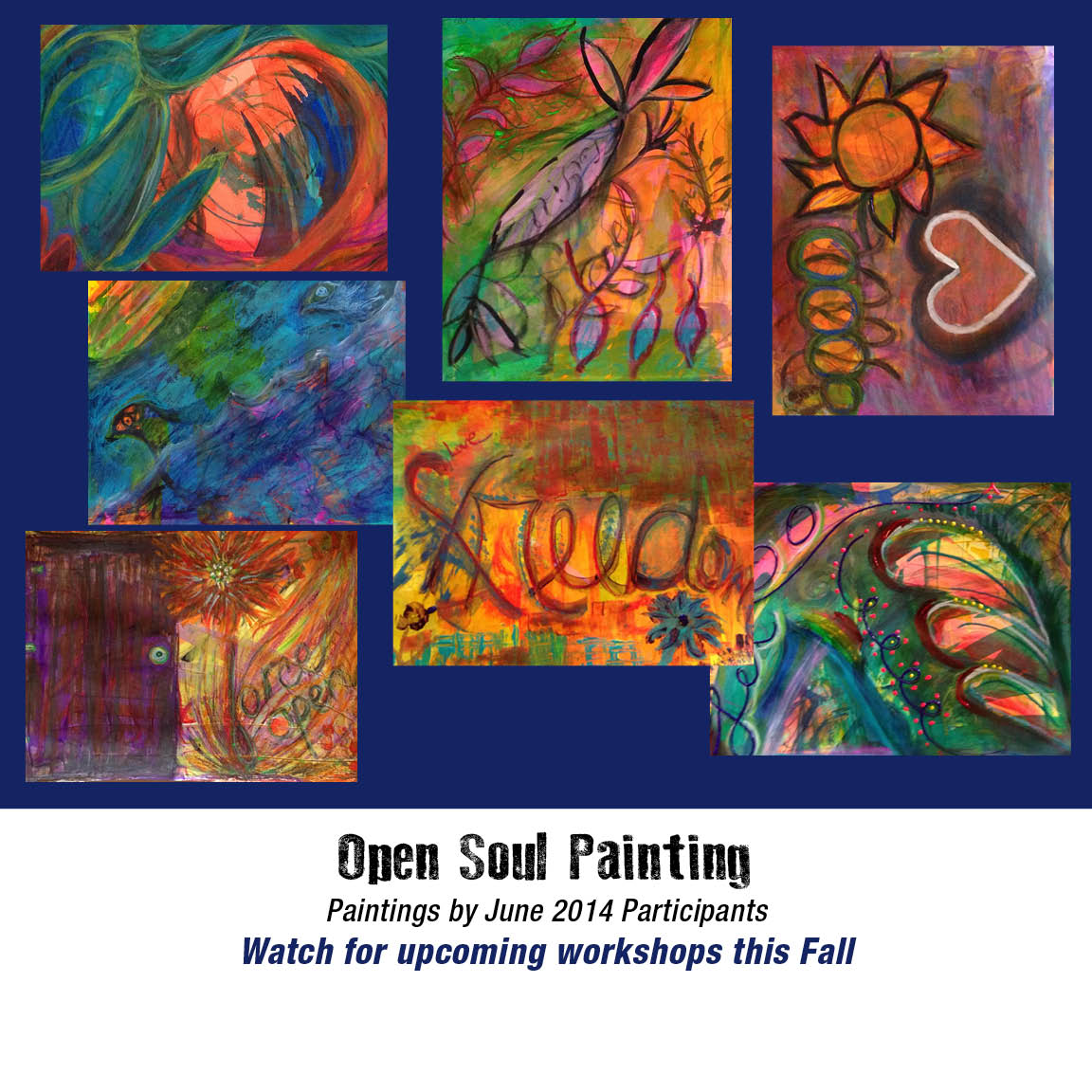 Open Soul Painting • June Workshop