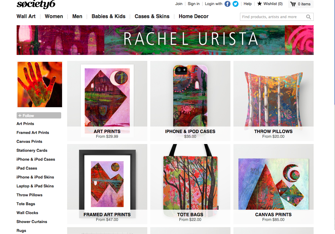 New Shop @ Society6 and Special for You!
