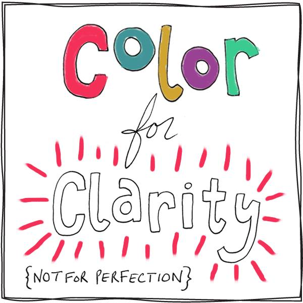 It's Finally Here! Color for Clarity Book