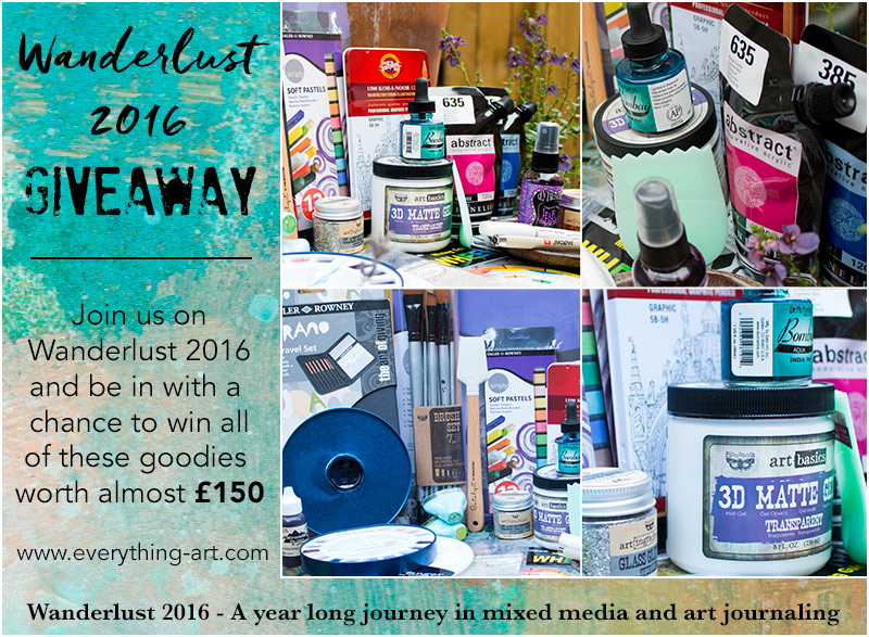 Wanderlust 2016 First Ever Giveaway