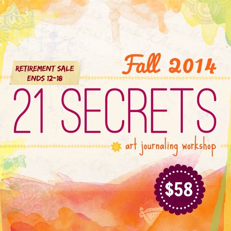21 SECRETS Retirement SALE
