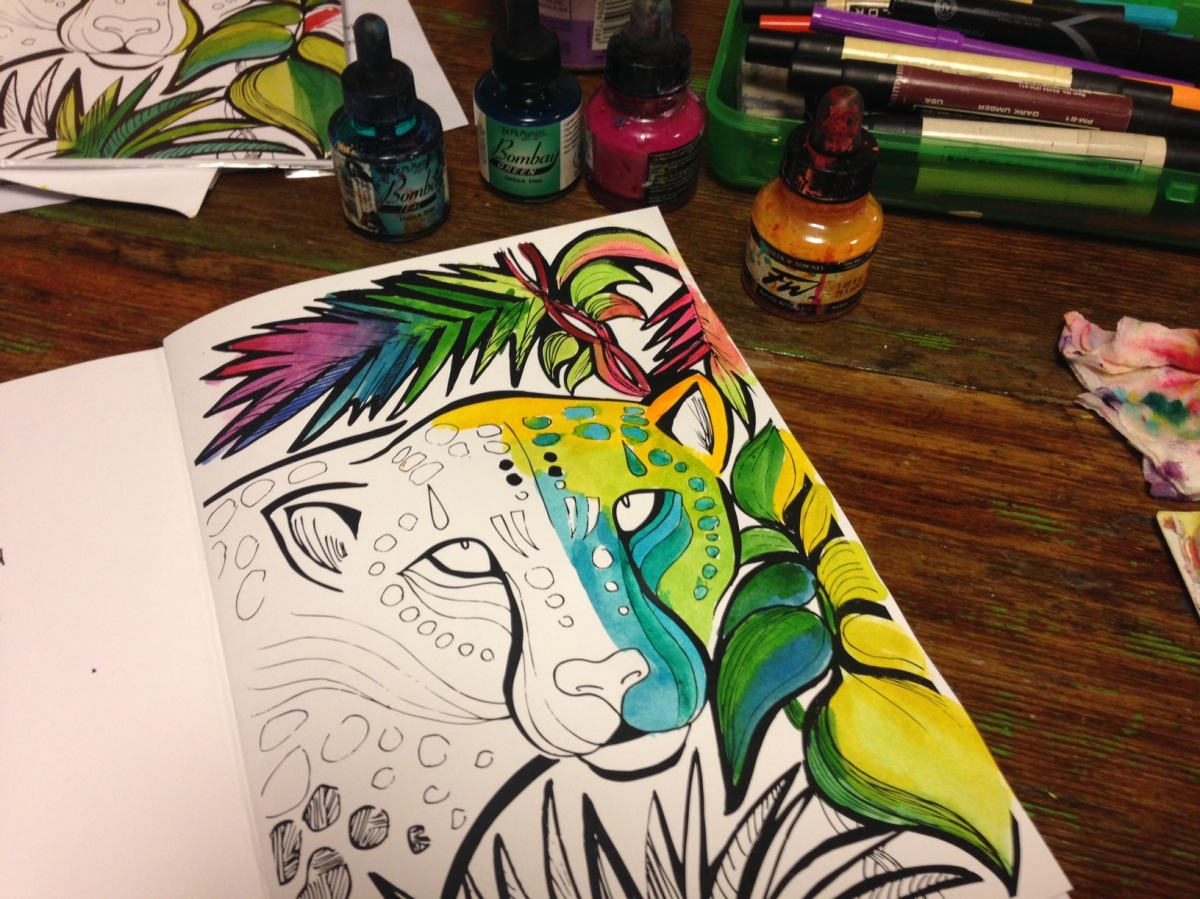 My Illustrated Coloring Book•Color Quest, Vol1