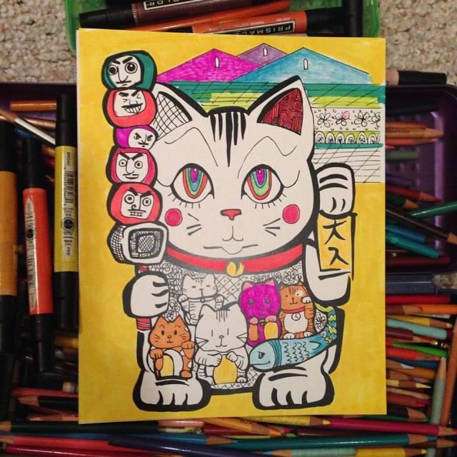 LuckyCat_ColoringPage_RUrista_3