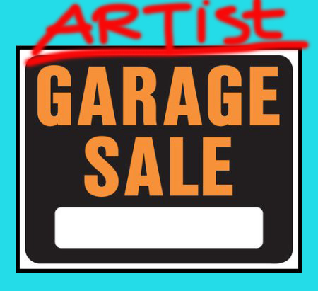 This Sunday: Multi-Artist Studio Clearance SALE
